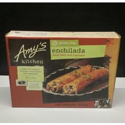 Photo of Amys Gluten Free Enchilada Black Bean & Vegetable 269g