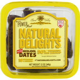Photo of Bard Valley Natural Delights Pitted Medjool Dates
