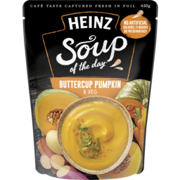 Photo of Heinz Soup Of The Day Harvest Pumpkin & Mixed Vegetable 430g