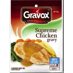 Photo of Gravox Gravy Mix Supreme Chicken 29gm