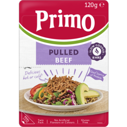 Photo of Primo Pulled Beef 120g