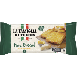 Photo of La Famiglia Traditional Pan Bread With Parmesan 6 Serves 450g