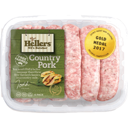 Photo of Hellers Sausages Breakfast Pork 6 Pack