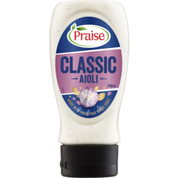 Photo of Praise Deli Style Classic Aioli 250ml