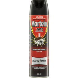 Photo of Mortein Rapid Kill Aerosol Crawling Insect Killer 320gm