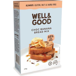 Photo of Well And Good Choc Banana Bread Mix 375gm