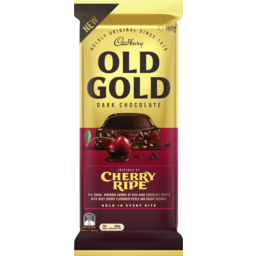 Photo of Cadbury Old Gold Dark Chocolate Cherry Ripe 180g