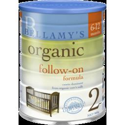 Photo of Bellamys Organic Step 2 Follow On Formula Fro 6 Months 900g
