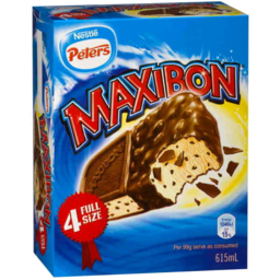 Photo of Peters Maxibon Ice Cream 4 Pack