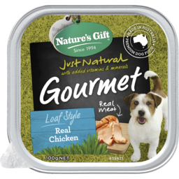 Photo of Nature's Gift Natures Gift Gourmet Real Chicken Wet Dog Food 100g