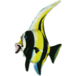 Photo of Plush Moorish Idol Fish 35cm