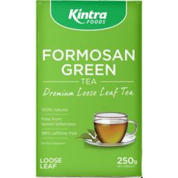 Photo of Kintra - Formosan Green Loose Leaf Tea - 250g