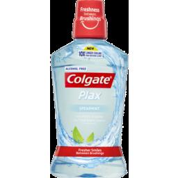 Photo of Colgate Plax Alcohol Free Spearmint Mouthwash 500ml