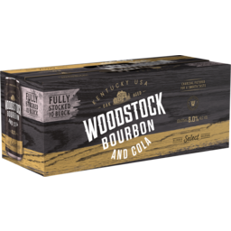Photo of Woodstock Bourbon & Cola 8% Cans