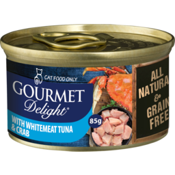 Photo of Gourmet Delight Whitemeat Tuna & Crab 85g