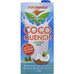 Photo of Pure Harvest Coco Quench Milk (1L)