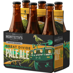 Photo of Monteith's Great Divide Pale Ale  6 x 330ml Bottles