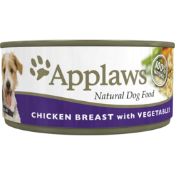 Photo of Applaws Dog Food Can Chicken & Vegetable 156g