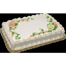Photo of Yellow - Vanilla Full Sheet Cake