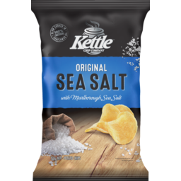 Photo of Kettle Chip Company Potato Chips Original Sea Salt 150g