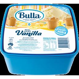 Photo of Bulla Vanilla Ice Cream 4lt