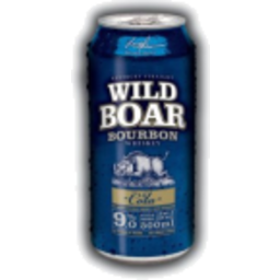 Photo of Wild Boar Bourbon Whiskey & Cola Can