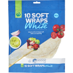 Photo of Wraps WW White 10 Pack