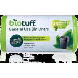 Photo of Biotuff Bin Liners - General Use (Medium) 30l