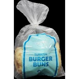 Photo of Cripps Turkish Burger Buns 4 Pack
