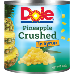 Photo of Dole Pineapple Crushed In Syrup 439g