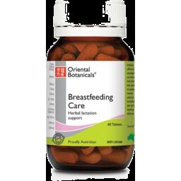 Photo of Oriental Botanicals Breastfeeding Care Tablets