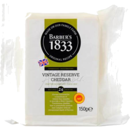 Photo of Barbers Cheddar 24 Months
