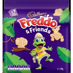 Photo of Cadbury Freddo & Friends Biscuits 7 Pack 139g