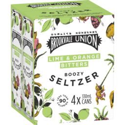 Photo of Brookvale Union Seltzer Lime & Orange Bitters Can
