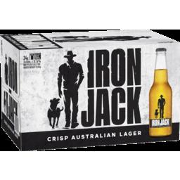 Photo of Iron Jack Bottle 330ml 24 Pack