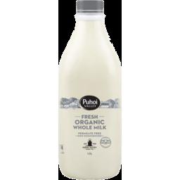 Photo of Puhoi Valley Organic Milk Non Homogenised 1.5L