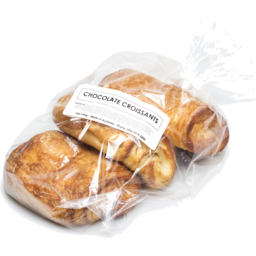Photo of Bowan Island Bakery Croissant - Chocolate (3 Pack)