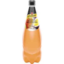 Photo of Schweppes Mineral Water 1.1l Blood Orange Passionfruit