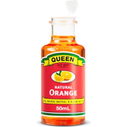 Photo of Queen Natural Orange Flavouring Extract 50ml