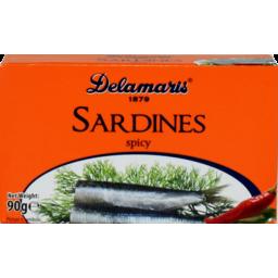 Photo of  Delamaris Sardines Hot Spicy 90g