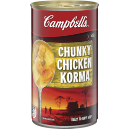 Photo of Campbell's Chunky Soup Chicken Korma 505g