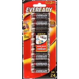 Photo of Eveready Shd Aa Batteries 24pk