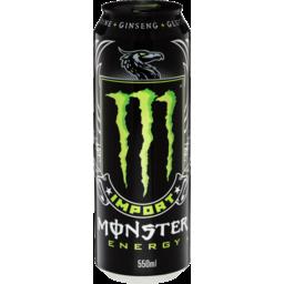 Photo of Monster Energy Import 550ml