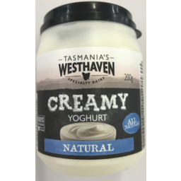 Photo of Westhaven Creamy Yoghurt Natural  200g