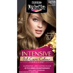 Photo of Napro Palette Permanent Hair Colour 7-0 Light Brown