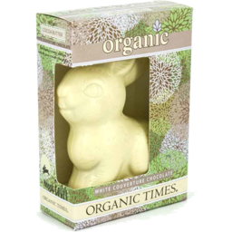 Photo of ORGANIC TIMES:OT White Choc Easter Bunny 70g