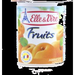 Photo of Elle & Vire Apricot Dairy Dessert