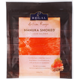 Photo of Regal Salmon Manuka Smoked 100g