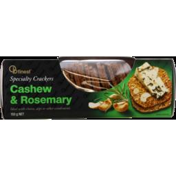 Photo of OB Finest Crackers Cashew & Rosemary 150g