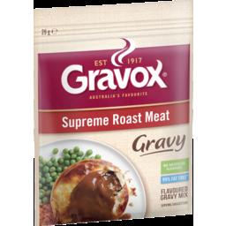 Photo of Gravox Gravy Mix Supreme Roast Meat 29gm
